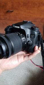 Canon 70 with lens