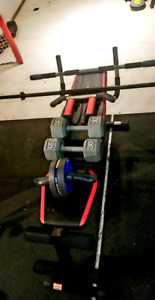 Workout equiptment