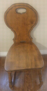 Old Wood Chair $50