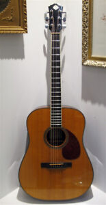 Morgan Dreadnought Guitar Rosewood / Spruce Hand Built 2000