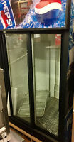 USED QBD 2 DOOR FRIDGE