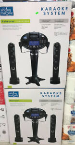 KARAOKE SYSTEM THE SINGING MACHINE PEDESTAL