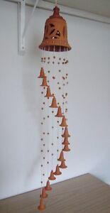 Clochettes carillon en poterie fait à la main