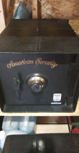 American Security B2200 Floor safe