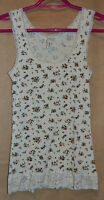 Smart Set Floral Tank Top Size Small