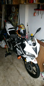 HONDA CBR125R FOR SALE *$2000 FIRM WITH TIRES and exhaust*