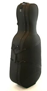 Brand New!   Hard sided cello case with wheels. NEW PRICE