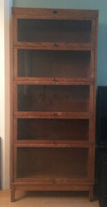 Antique Barrister Bookcase