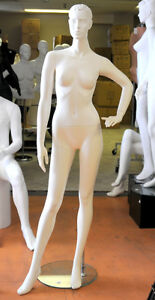 Mannequin - Full Body - Natural standing pose .
