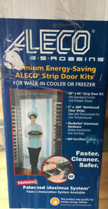 Aleco Strip Door Kit For Walk-in Cooler