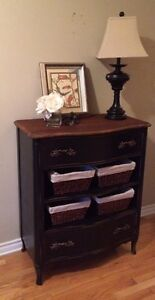 Solid Wood Vintage Chest