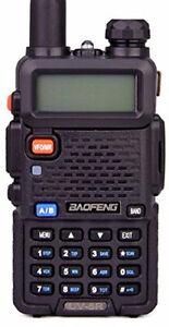 BaoFeng 5 Watts Dual Band Two Way Radio (Black)