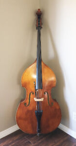 Upright Double Bass - 1/2 size