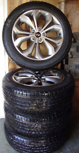 4 Tires and Hyundai Alloy Rims St. John's Newfoundland image 2