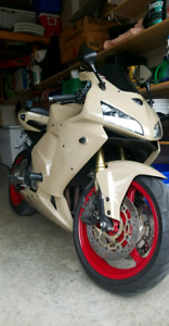 2006 honda cbr 600rr  custom paint