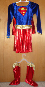 Supergirl Costume, size 10-12 (childs)