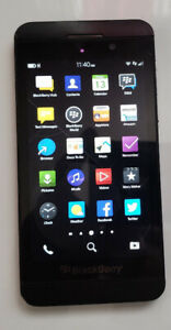 BlackBerry  Z10 unlocked works w Freedom