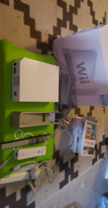 Wii consoles w games and accessories