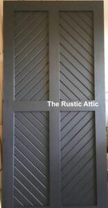 Handcrafted Custom Sliding Barn Doors Bypass Soft Close Hardware
