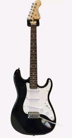 Elevation Electric Guitar (Black) - very good condition