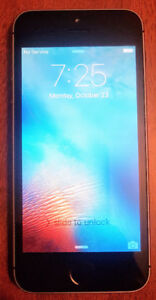 Apple iPhone 5S 16GB Space Grey - Rogers