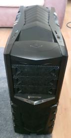 CiT Vanquish Mid Tower Gaming Case - Black USB 3.0