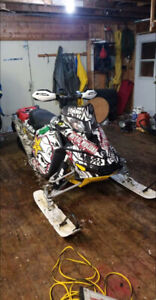 09 rev xp 800r renegade and parts sled.  Must be sold together