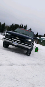 1998 k1500 4x4 and 2012 rmk pro 800 for trade