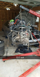 Selling d17a1 with 5 spd trans