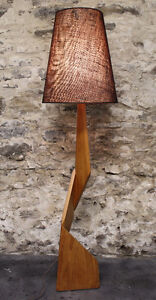Teak Lamps! Mid-Century Modern Lighting!