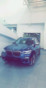 2018 BMW X3 M40i Lease takeover - Ends Jan 2022