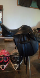 "17.5"" M.Toulouse Dressage Saddle"