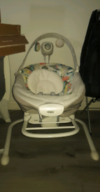 Graco swing and rock unisex brand new