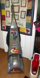 Bissell Proheat carpet cleaner with attachments