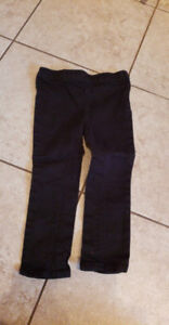 girls black pants size 2/3