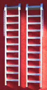 Aluminum Heavy Duty Single Quad Loading Ramps