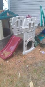 Step 2 infant play slide & house