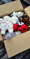 Selling Boxes of Mixed Stuffed Toys and Accessories