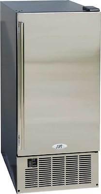 Sunpentown SPT 45 - 50 Lbs. Built-In/Freestanding Ice Maker - SS Door - IM-600US