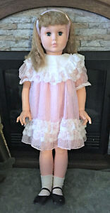 "36"" Walker Doll - Unidentified Manufacturer (Uneeda?) circa 1960 London Ontario image 2"