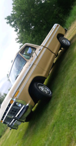 Show truck. 1977 ford f150
