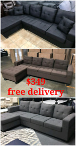 Sectional on sale with free delivery