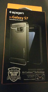 Selling Unopened Samsung Galaxy S7 Spigen Rugged Armour Cover