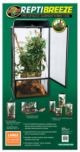 Zoo-med lizard enclosure. size large.