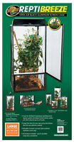 Brand New Large ReptiBreeze ( Open Air Cage For Reptiles )