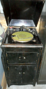 "GRAMOPHONE VINTAGE RECORD PLAYER  ""NOT WORKING"""