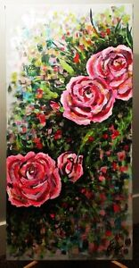 Acrylic Abstract Painting On Canvas Art