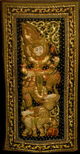 Thai artistic Wall Tapestry, hand made new condition