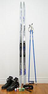 Équipement complet de ski de fond