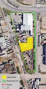 Commercial Yard for Lease (Available Sept.30th, 2016)